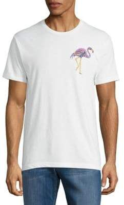 Riot Society Ornate Flamingo Printed Tee