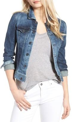 Women's Ag 'Robyn' Denim Jacket $198 thestylecure.com