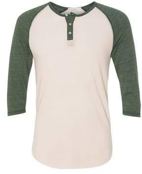 Alternative Men's Eco Jersey 3/4 Raglan