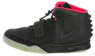 Nike x Kanye West Air Yeezy 2 NRG Solar Red Sneakers