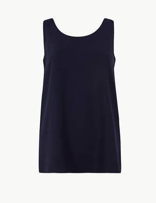 4e8c6b6b879daa M&S CollectionMarks and Spencer Scoop Neck Vest Top