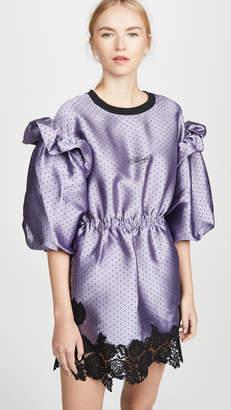 Philosophy di Lorenzo Serafini Puff Sleeve Mini Dress