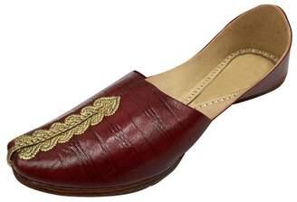 N. Step Style Mens Jutti Leather Mojari Khussa Handmade India Punjabitraditional Juti