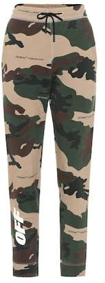 Off-White Camouflage cotton sweatpants