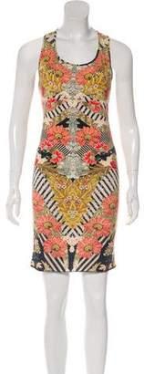 Alexander McQueen Printed Sleeveless Dress