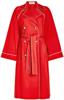 Nina Ricci Cotton Trench Coat