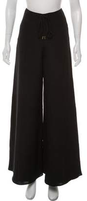 Cushnie et Ochs High-Rise Silk Pants