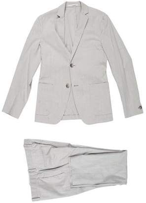 Theory Wool-Blend Cropped Suit