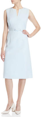 Lafayette 148 New York Sueanne Belted A-Line Dress