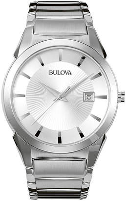 Bulova Classic Men's Silver Dress Watch 96B015
