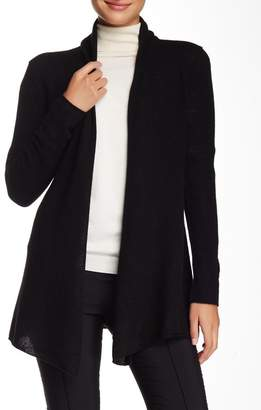 InCashmere In Cashmere Open Front Cashmere Cardigan