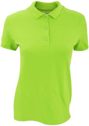 Gildan Womens/Ladies Premium Cotton Sport Double Pique Polo Shirt (2XL)
