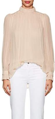 "MANNING CARTELL Women's ""Feather Weight"" Silk Chiffon Blouse"