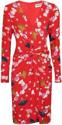 Essentiel Floral Print Mini Dress