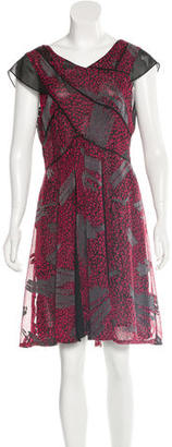Reiss Loretta Leopard Print Dress $95 thestylecure.com