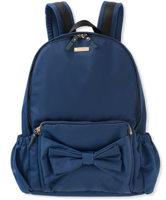 Kate Spade New York Girls' Back To School Nylon Backpack, Navy $128 thestylecure.com