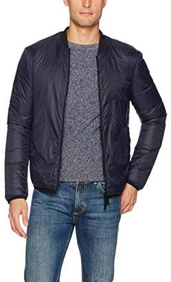 Armani Jeans Men's Nylon Full Zip Bomber Jacket