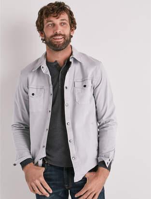 Lucky Brand Stretch Twill Shirt Jacket