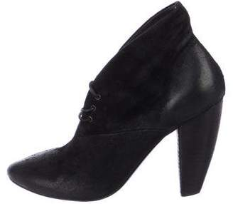 Marsèll Suede Pointed-Toe Booties