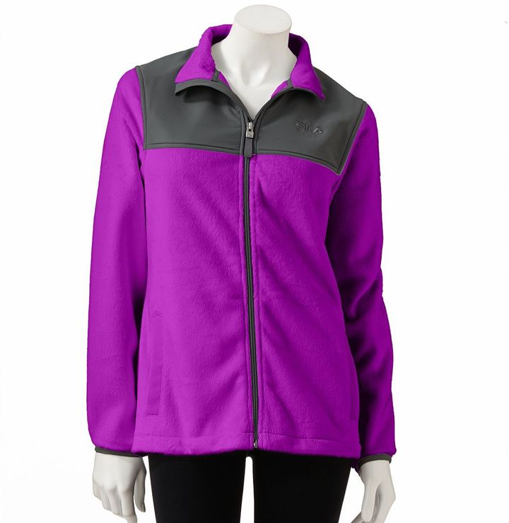 Fila sport ® core essentials biella performance fleece jacket - women's