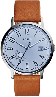 Fossil Women's Vintage Muse Tan Leather Strap Watch 40mm ES3975 $105 thestylecure.com