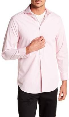 Michelson's Fancy Stripe Print Slim Fit Shirt