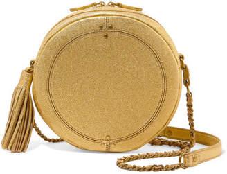 Jerome Dreyfuss Remi Metallic Textured-leather Shoulder Bag - Gold