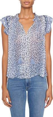 Ulla Johnson Doria Floral Sleeveless Top