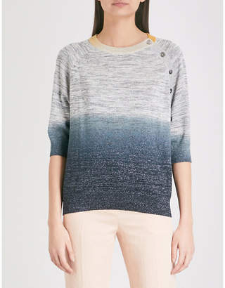 Zadig & Voltaire Just gradient knitted jumper