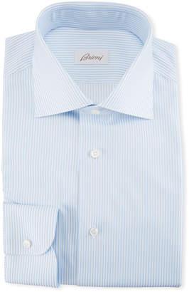 Brioni Striped Cotton Dress Shirt