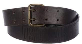 DSQUARED2 Logo Leather Belt