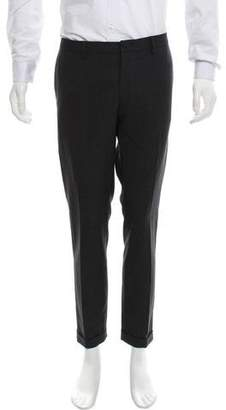 Paul Smith Cropped Speckled Dress Pants