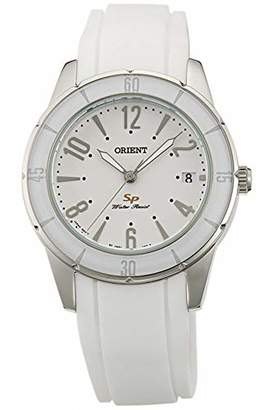 Orient Womens Analogue Quartz Watch with Rubber Strap FUNG1002W0