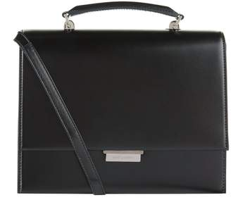 Saint Laurent Babylone Smooth Leather Satchel