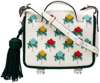 Marco De Vincenzo Giummini embroidered shoulder bag