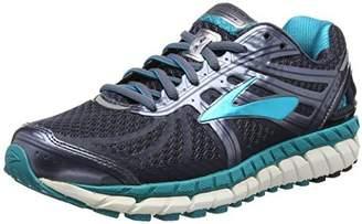 Brooks Women's Ariel '16 2E Running Shoe (BRK-120219 2E 4022050 7 ANT/PUR/PRIMER)