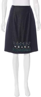 Aquilano Rimondi Aquilano.Rimondi Embellished Pencil Skirt