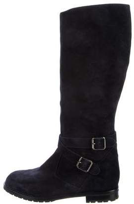 Manolo Blahnik Campocross Knee-High Boots