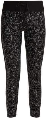 The Upside Petites Etoiles star-print performance leggings