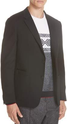Ermenegildo Zegna Wash And Go Trim Fit Wool Blazer