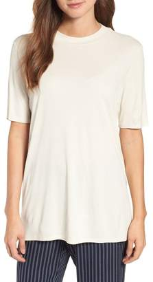 Eileen Fisher Silk Short Sleeve Tee