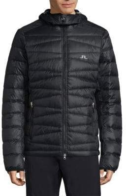 J. Lindeberg Ski Radiator Quilted Down Hooded Jacket