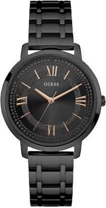GUESS Women's Black Stainless Steel Bracelet Watch 40mm U0933L4