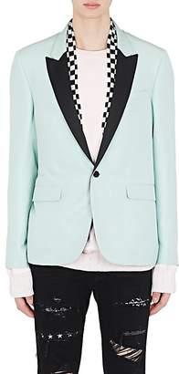 Amiri Men's Silk Scarf-Detail One-Button Sportcoat