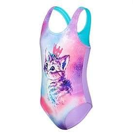 Speedo Galaxy Cat One Piece