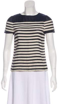 Marc by Marc Jacobs Silk Short Sleeve Blouse