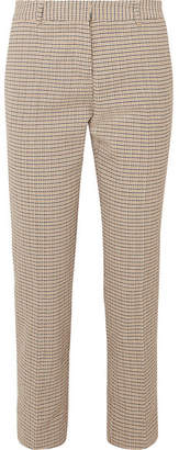 Vanessa Bruno Moustique Cotton-tweed Straight-leg Pants - Beige