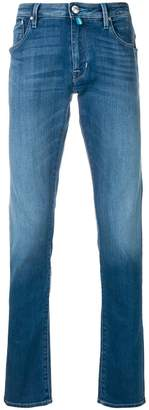 Jacob Cohen slim fit stonewashed jeans