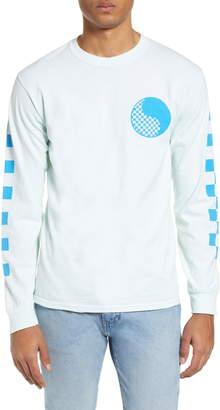 Yin & Yang Free & Easy Checkered Yin Yang Long Sleeve T-Shirt