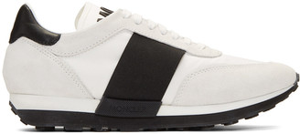 Moncler Off-White Louise Sneakers $495 thestylecure.com
